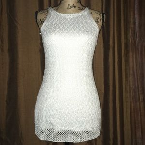 White House Black Market Sleeveless Knit Top.